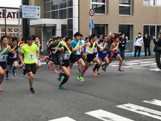 三島市成人式記念駅伝