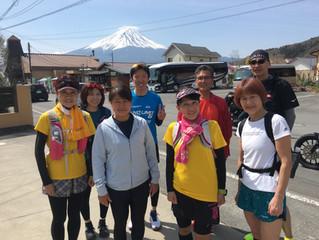 チャレンジ富士五湖ウルトラ応援ラン