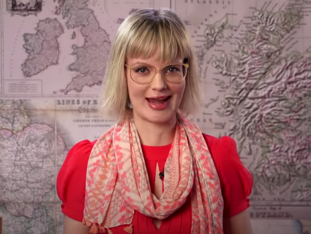 One woman, 17 British accents