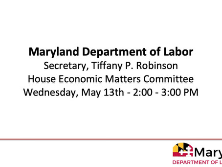 ECM Committee Briefing - Wednesday, May 13th @ 2pm - Update