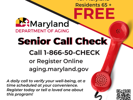 Senior Call Check