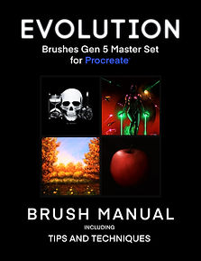 Evolution Brushes Master Set for Procrea