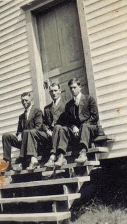 Markley Jones, Harlin Jones, unidentified at RHBC