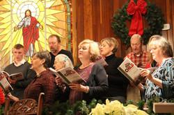 Choir Christmas rehersal