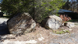 Boulders sign by Family Life Center