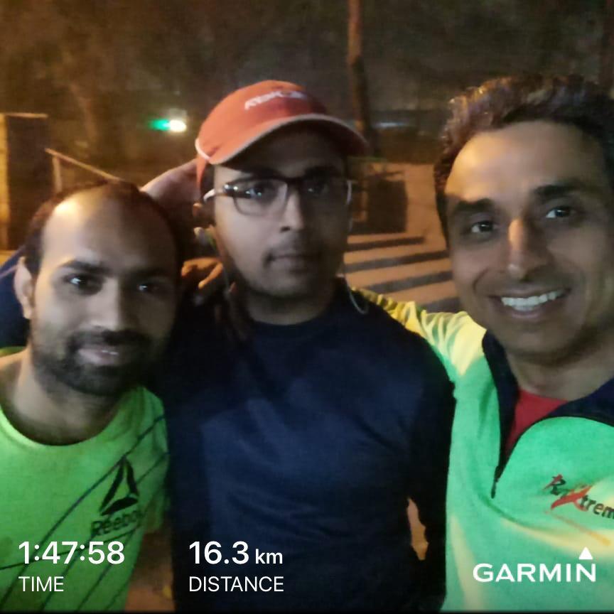 First Run with Tarun Sir