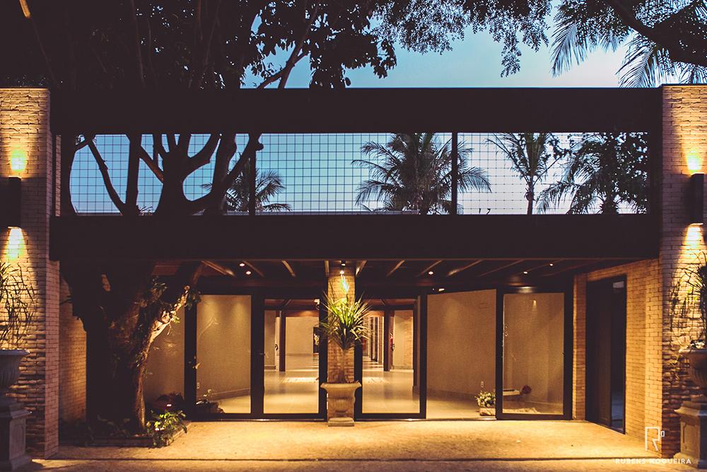 Hall de entrada para salão