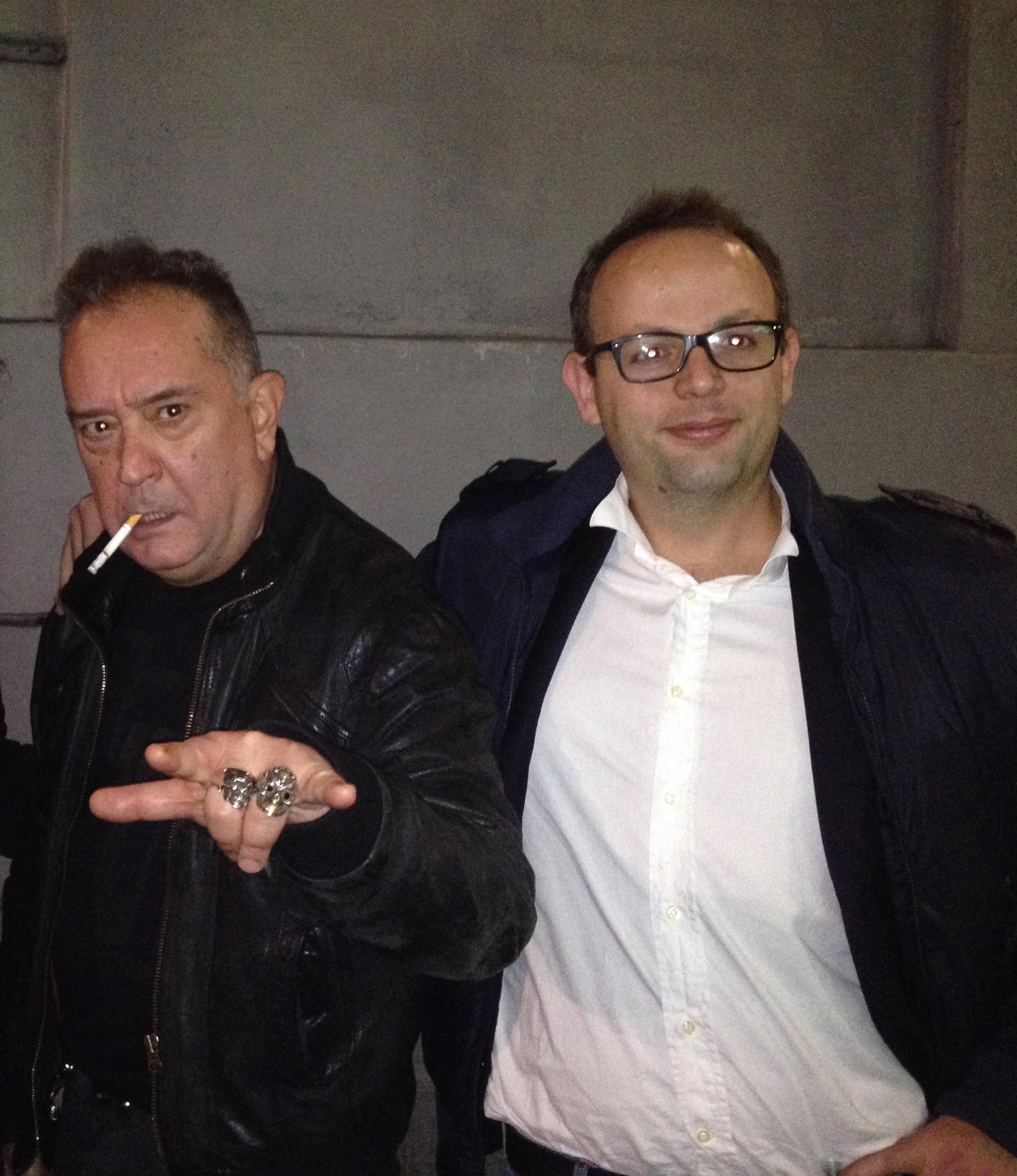 Luciano Macchia  e Johnson Righeira
