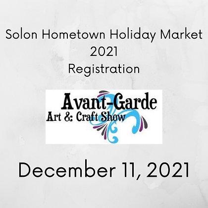 Solon Hometown Holiday Registration ($125.00)
