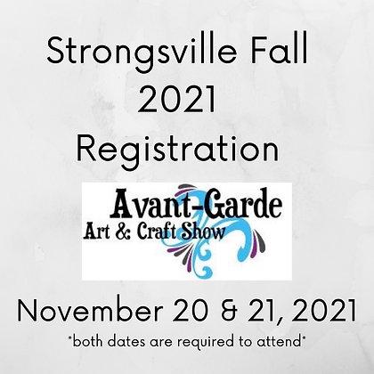 Strongsville Fall Registration ($105.00+)