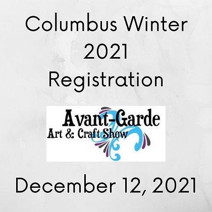 Columbus Winter Registration ($75.00+)