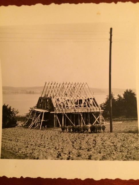 Bau des Hauses