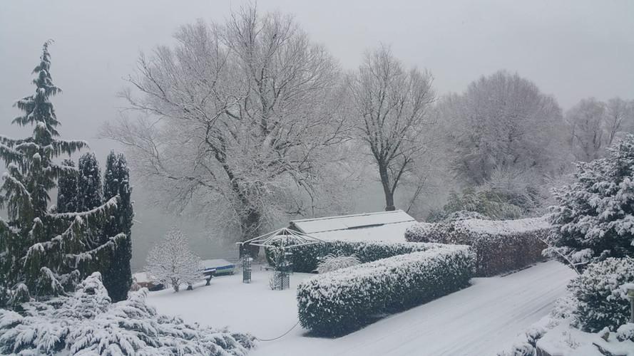Bezaubernde Schneelandschaft