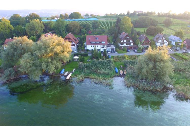 Haus Konrad vom Gnadensee aus
