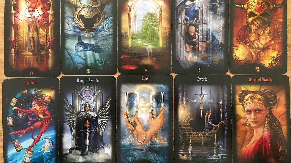 10 Card Tarot Card Reading