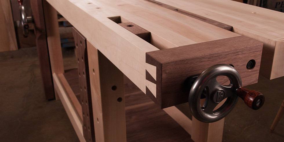 Private Split-Top Workbench Class -  Hardware and Materials Included