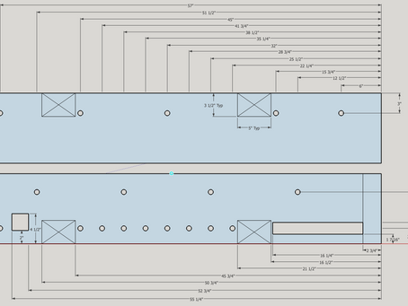 """Lay Out a 60"""" Split-Top Workbench"""