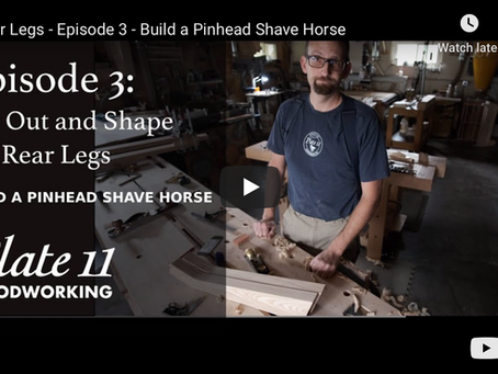 Now Playing: Build a Pinhead Shave Horse - Episode 3