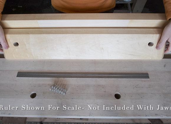 20-08 Silver Maple Moxon Jaw Set