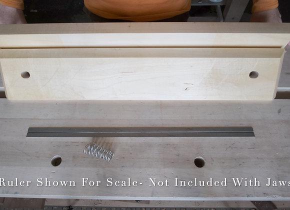 20-07 Silver Maple Moxon Jaw Set