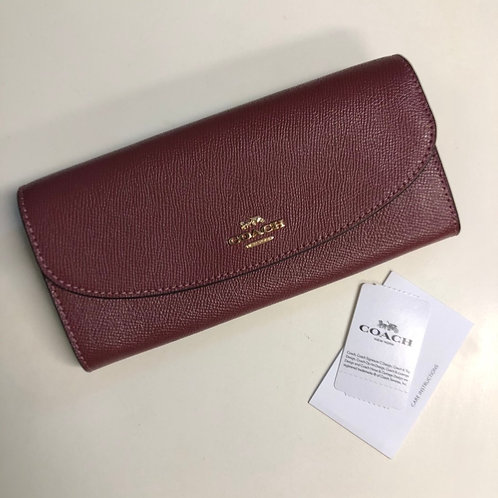 Carteira Envelope Slim Coach
