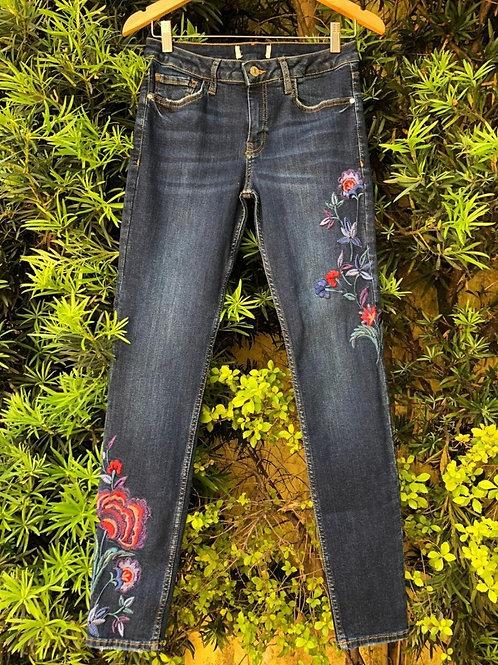 Calça jeans skinny da MNG