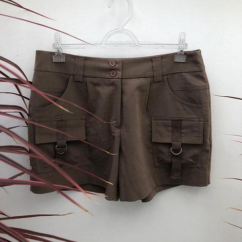 Short marrom da Luigi Bertolli
