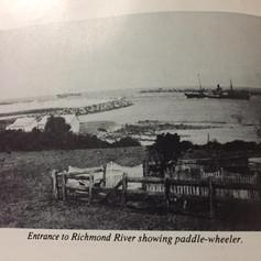 Entrance to the Richmond River