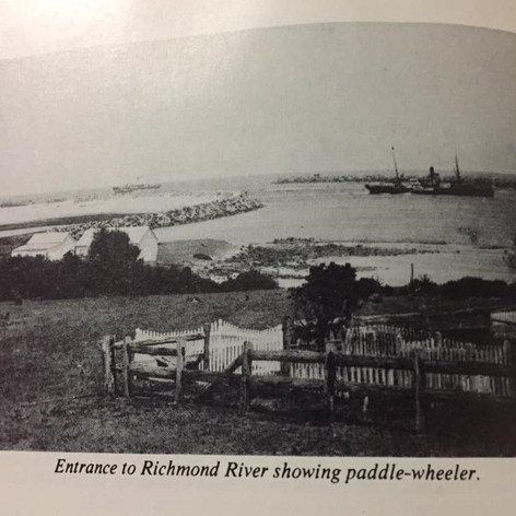 Entrance to the Richmond River