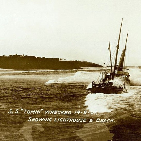Wreck of the SS Tomki