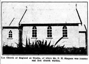 CHURCH OF ENGLAND, URALBA
