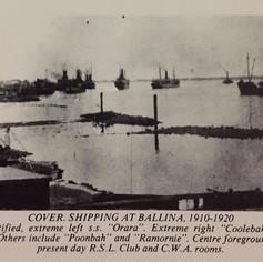 Shipping Ballina 1910-1920