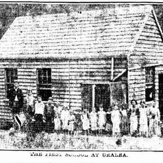 The first school at Uralba