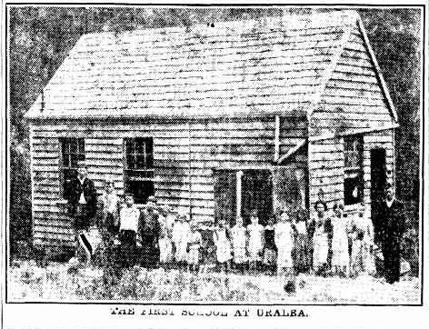The first school at Uralba