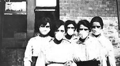 women wearing masks_John Oxley Library.j