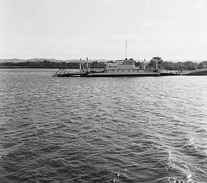 Burns Point Ferry 1959