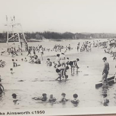 Lake Ainsworth approx 1950