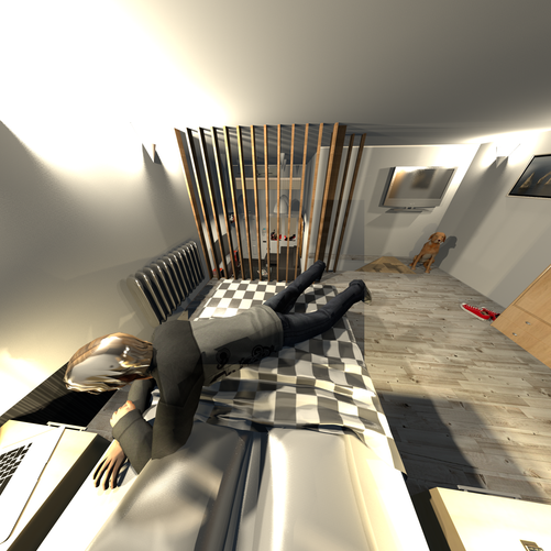 Όροφος διαμερίσματος Loft