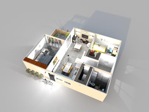 Διαμέρισμα 80 τ.μ.