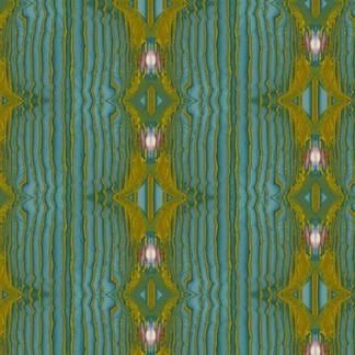 Antique Silk Wallpaper in Larkspur Blue