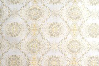 Mosaic in Yellow Cream