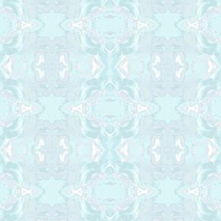 Fantasia Wallpaper in Blue Grass