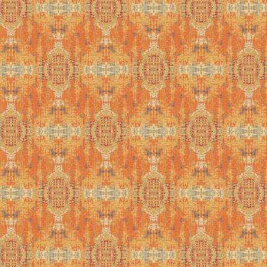 Rose Patinata Wallpaper in Amber Glow