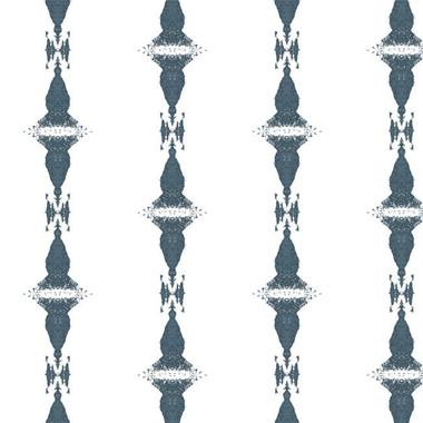 Tops Wallpaper in Blue Mirage