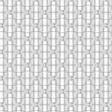 Tre Effe Wallpaper in Silver