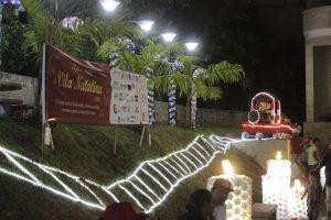 Demape ilumina a Vila Natalina de Itatiba-SP