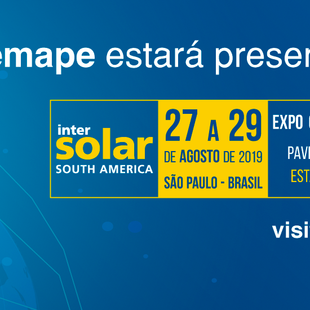 Visite a Demape na INTERSOLAR South America 2019