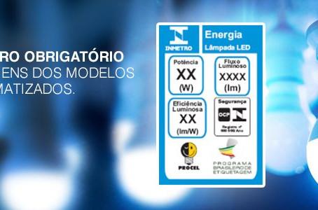 Lâmpadas LED não serão vendidas sem o certificado do Inmetro.