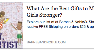 Barnes&Noble Gift Guide: Gifts for Unstoppable Girls