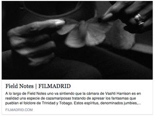 Field Notes Premieres in Spain